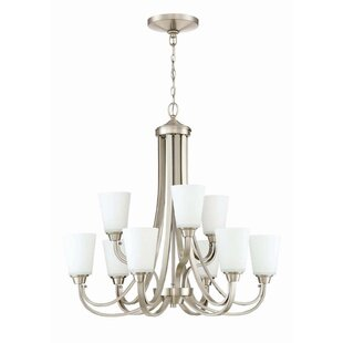 Colfax 9-Light Shaded Chandelier by Alcott Hill