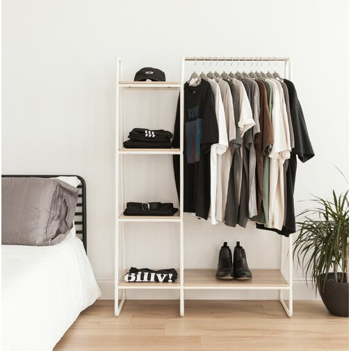 39.8 in. W Garment Rack