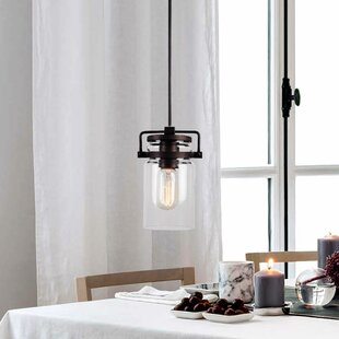 Breakwater Bay Hagins 1-Light Jar Pendant