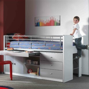 Briggs European Single Mid Sleeper Bed With Desk By Isabelle & Max