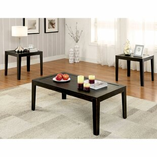 Baranof 3 Piece Coffee Table Set