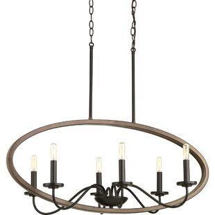 Gracie Oaks Maez 6-Light Chandelier