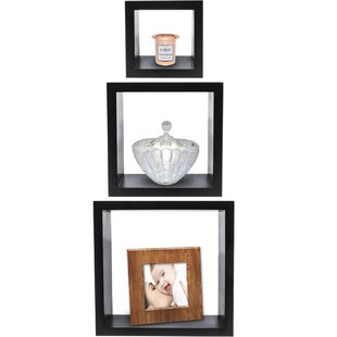 Sorbus 3 Piece Wall Shelf Set