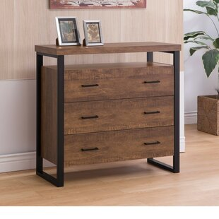 Imler 3 Drawer Accent Chest by Wrought Studio