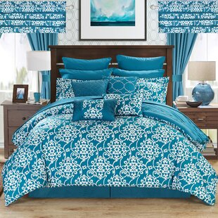 Sipos 24 Piece Reversible Comforter Set