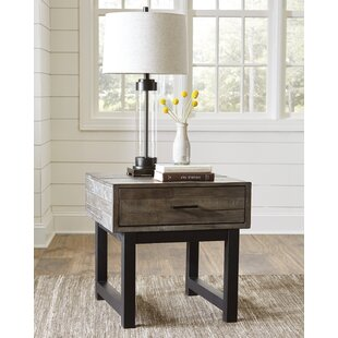Malachy End Table with Storage