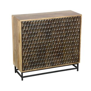 Anand 2 Door Accent Cabinet By World Menagerie