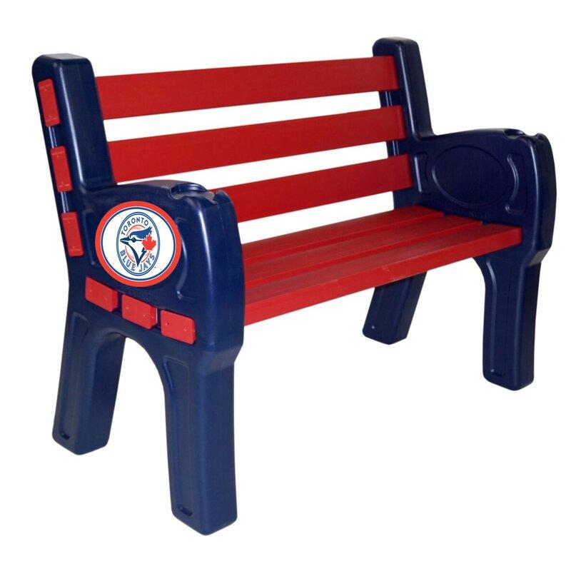 MLB Wooden Park Bench