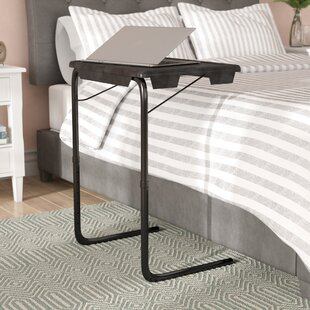 Affordable Portable and Foldable Bedside End Table By Symple Stuff