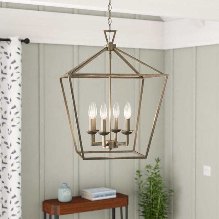 Carmen 6 Light Lantern Geometric Pendant