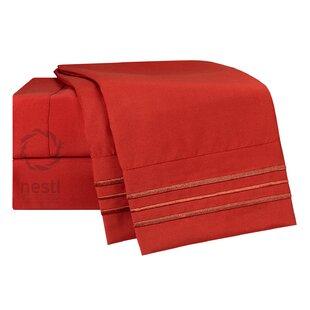 Nestl Bedding Robin Microfiber Sheet Set