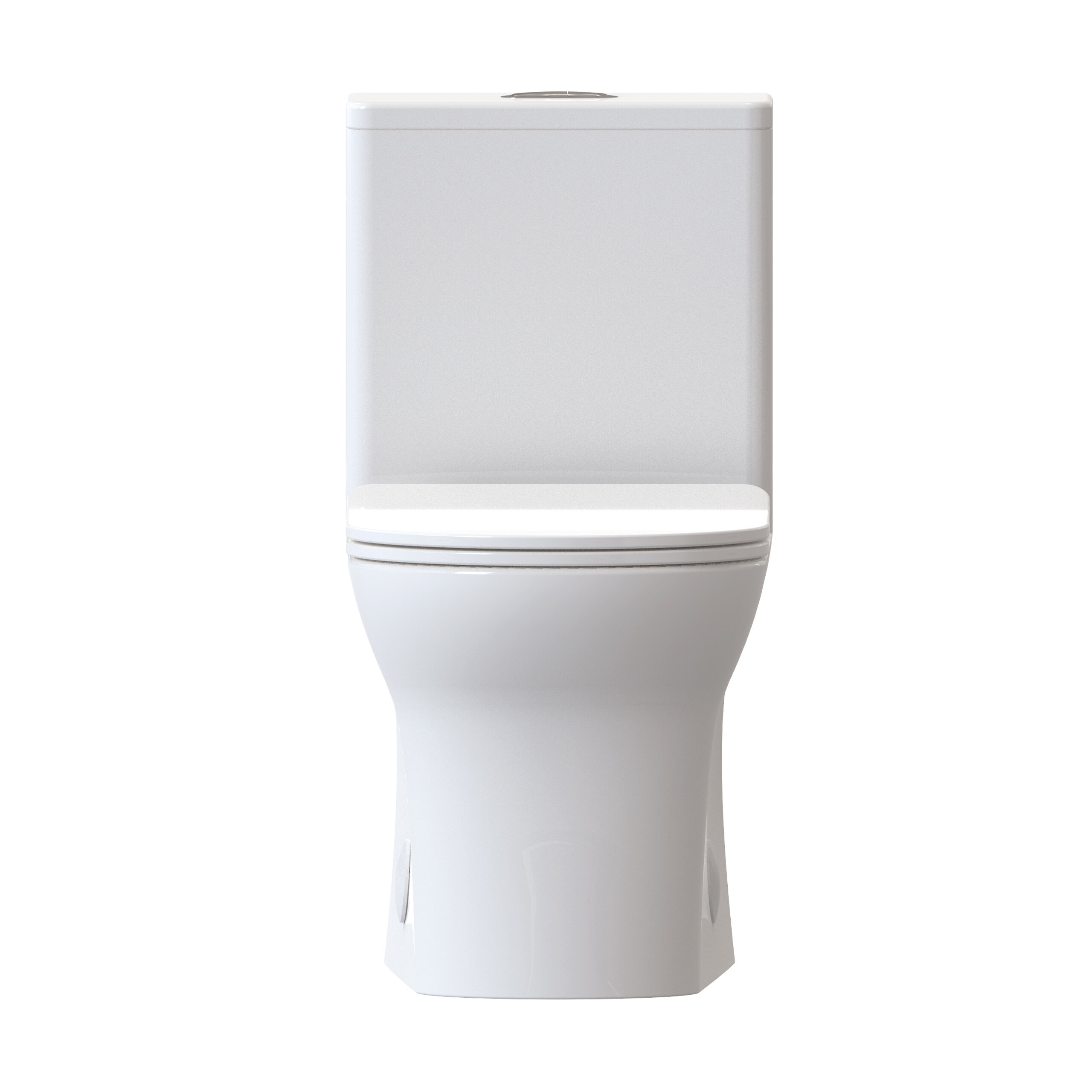 Admirable Burdon 1 28 Gpf Elongated One Piece Toilet Seat Included Onthecornerstone Fun Painted Chair Ideas Images Onthecornerstoneorg