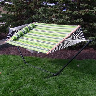 Bay Isle Home Sites Double Tree Hammock with Stand