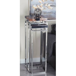 Pedestal 2 Piece Pub Table Set Cole & Grey