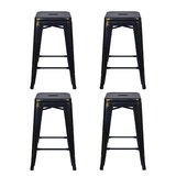Caine 24 Bar Stool (Set of 4) by Williston Forge