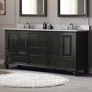 Samoset 72 inch  Double Bathroom Vanity Base Only