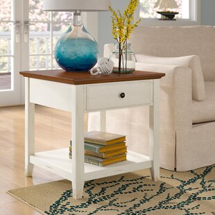 Beachcrest Home Willow End Table With Storage
