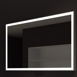 Orren Ellis Kristian Illuminated Bathroom/Vanity Wall Mirror