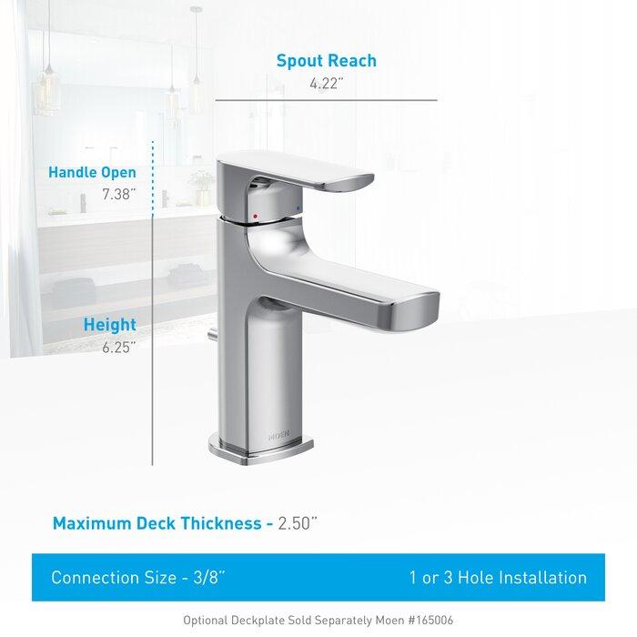 Moen Rizon Low Arc Bathroom Faucet & Reviews   Wayfair.ca