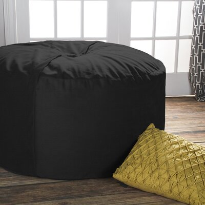Terrific Jaxx Bean Bag Lounger Upholstery Black Machost Co Dining Chair Design Ideas Machostcouk