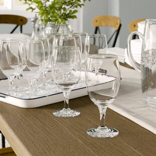 Janelle Everyday Water Goblets (Set of 12)