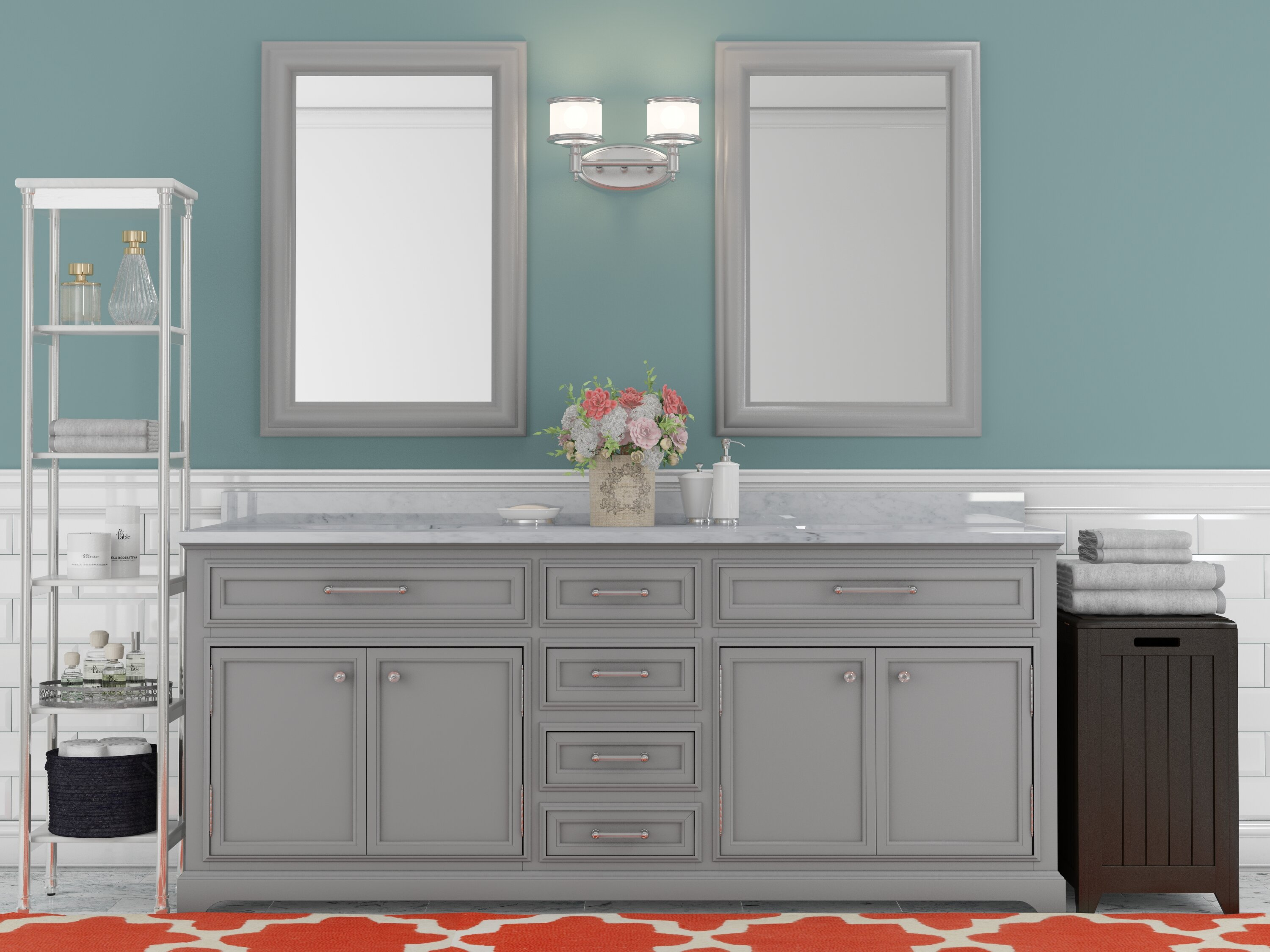 Wayfair Bathroom Vanity >> How To Choose A Bathroom Vanity Wayfair