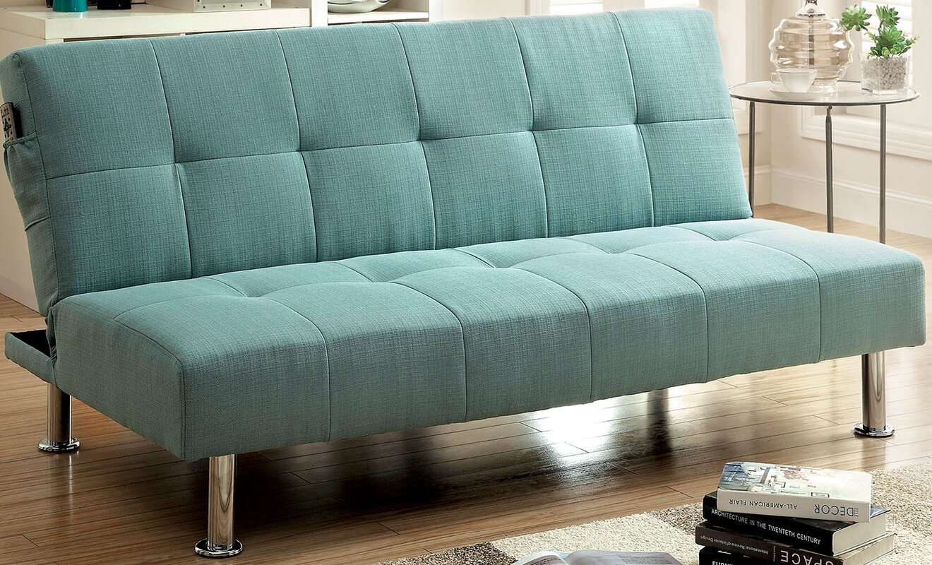 Charmant Tufted Futon Sleeper Sofa