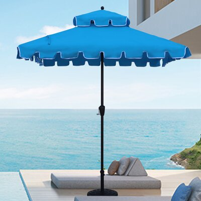Jersey 7 Square Patio Umbrella by Highland Dunes Discount