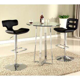 Inexpensive Chambers Pub Table Set By Chintaly Imports
