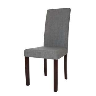 Glitzhome Padded Parsons Chair (Set of 2)