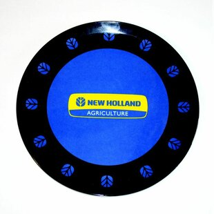 New Holland Melamine Plate by MotorHead Products Modern