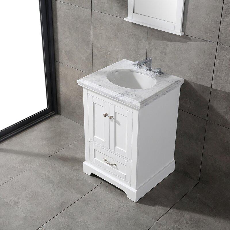 Charlton Home Stevenson 24 Single Bathroom Vanity Set Wayfair