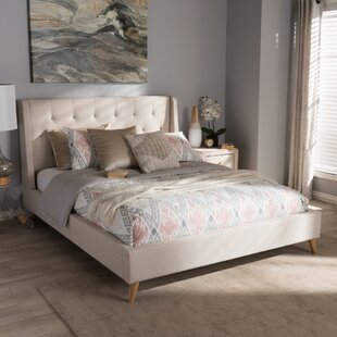 Wholesale Interiors Elisabetta Upholstered Platform Bed