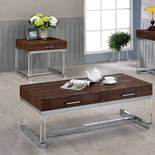 Maxwell 2 Piece Coffee Table Set Mercer41