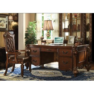 Esmeralda Executive Desk and Chair Set