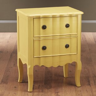 Check Prices 2 Drawer Nightstand by AA Importing