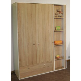 Anika 3 Door Wardrobe By Roba