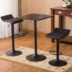Ainsley 3 Piece Pub Table Set by Williston Forge