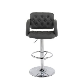 Quimir Adjustable Height Swivel Bar Stool..
