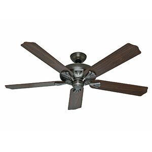 60″ The Royal Oaku0099 5-Blade Ceiling Fan with Remote