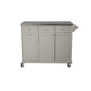 Philippe Kitchen Cart by August Grove Cheap
