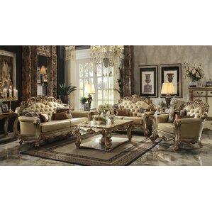 Mccarroll 3 Piece Living Room Set by Astoria Grand