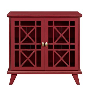 Charming Red Accent Cabinets + Chests