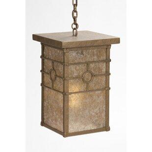 Steel Partners Historic California 1-Light Outdoor Hanging Lantern