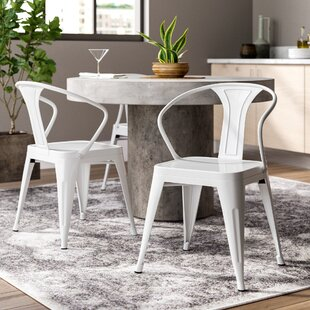 Katia Industrial Dining Chair (Set of 2) Trent Austin Design