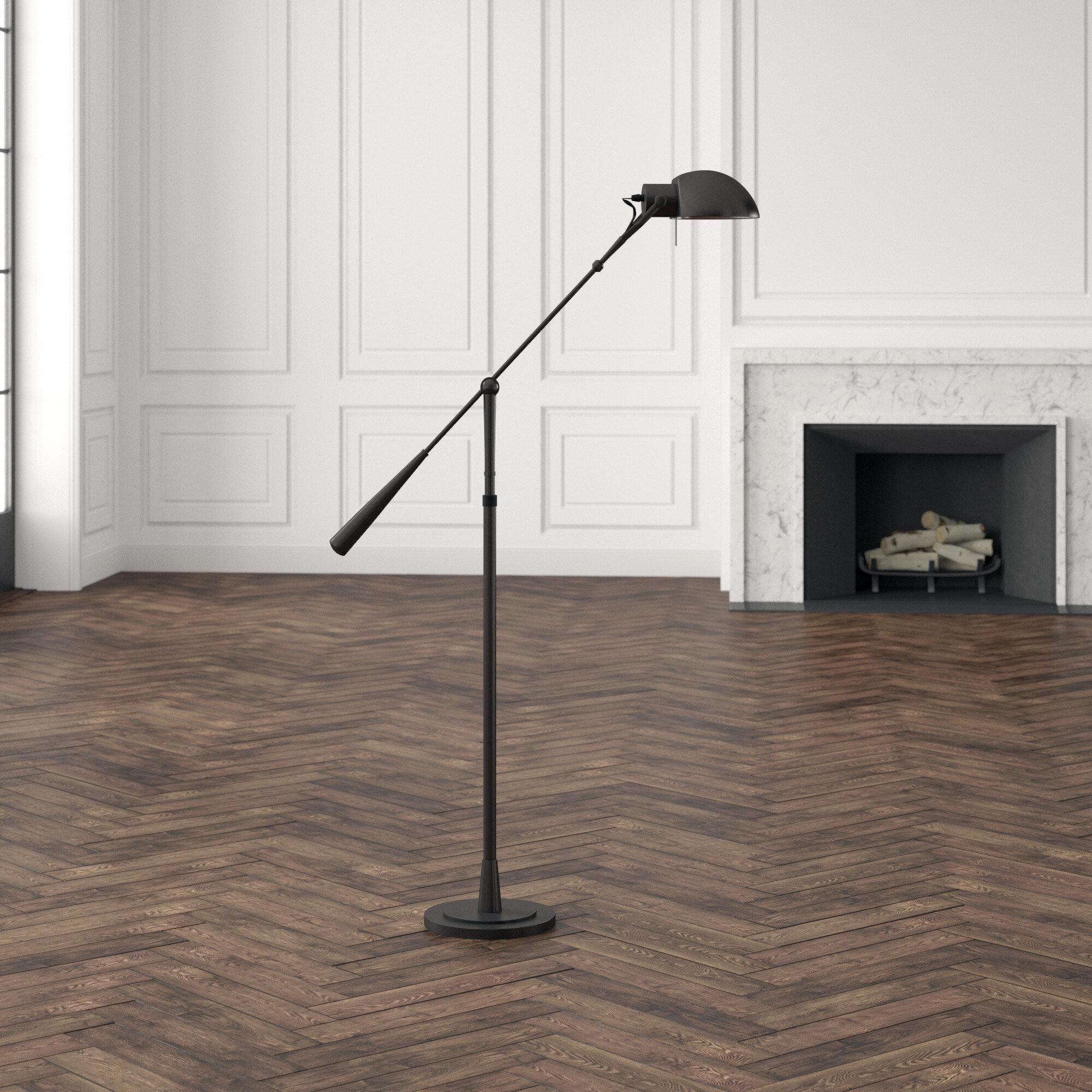 Image of: Ralph Lauren Equilibrium 1 Light Swing Arm Floor Lamp Perigold