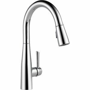 Essa Pull Down Single Handle Kitchen Faucet with MagnaTiteu00ae Docking and Diamond Seal