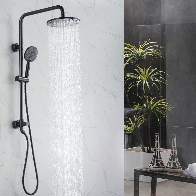 Multi Function Dual Shower Head Reviews Birch Lane