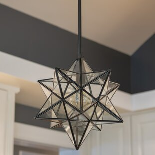 Wrought Studio Berwick Star 1-Light Geometric Pendant