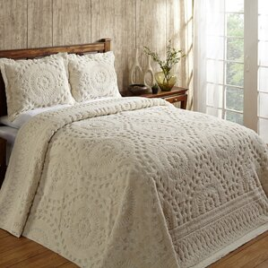Bed Coverlets   Quilts You ll Love   Wayfair Faunia Cotton Bedspread. Bedroom Quilts. Home Design Ideas